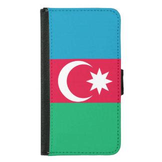 Azerbaijan Flag Samsung Galaxy S5 Wallet Case