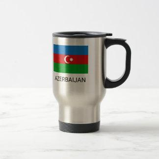 Azerbaijan Flag Travel Mug