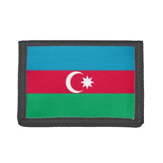 Azerbaijan Flag Tri-fold Wallet