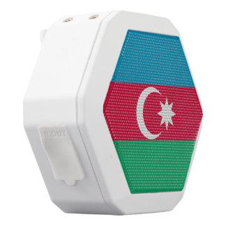 Azerbaijan Flag White Bluetooth Speaker