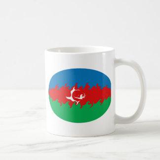 Azerbaijan Gnarly Flag Mug