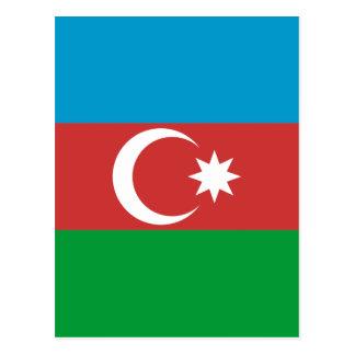 Azerbaijan High quality Flag Postcard