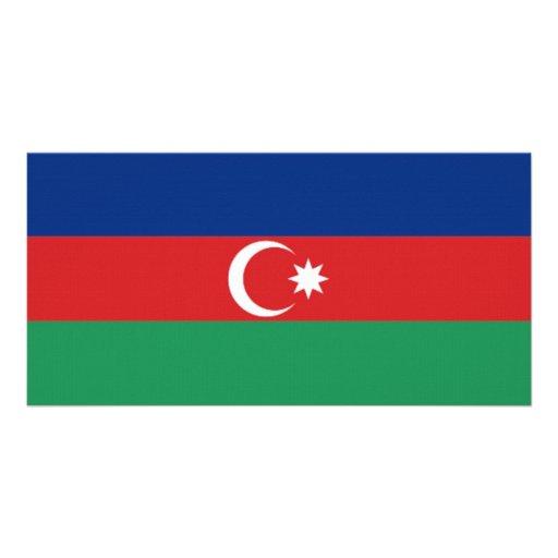 Azerbaijan National Flag Photo Cards