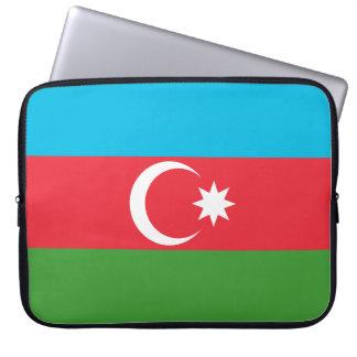 Azerbaijan National World Flag Laptop Sleeve