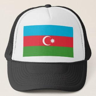 Azerbaijan National World Flag Trucker Hat