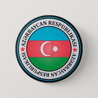 Azerbaijan Round Emblem 6 Cm Round Badge