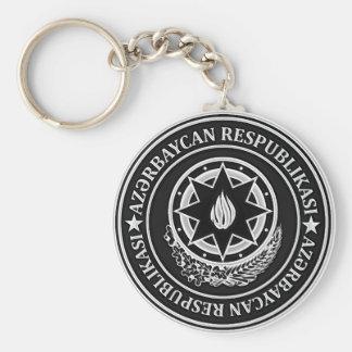 Azerbaijan  Round Emblem Key Ring