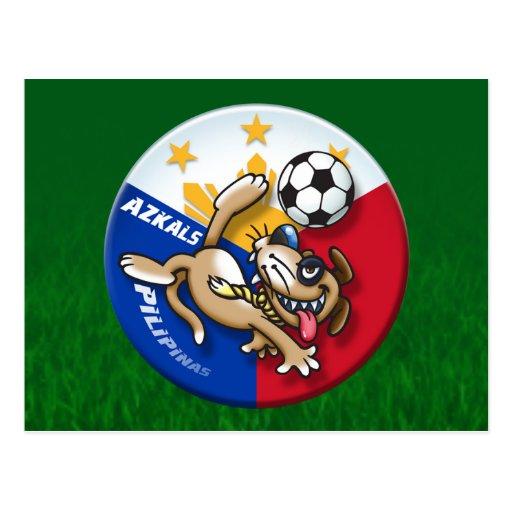 Azkals Soccer Football Action Postcards