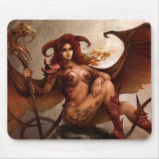 "Azmodeus Dark Angel ""Demon"", Mouse Pad"