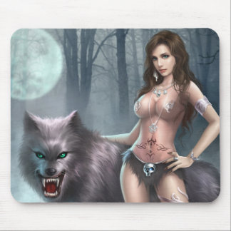 Azmodeus Lycan Queen, Mouse Pad