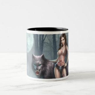 Azmodeus Lycan Queen, Mug