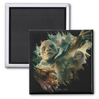 Azog, Narzug, and Bolg Graphic Magnet