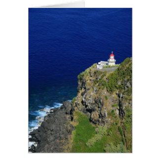 Azorean Lighthouse Greeting Card