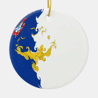 Azores Gnarly Flag Ornaments