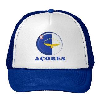 Azores islands flag hats