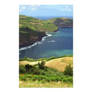Azores islands sea stationery