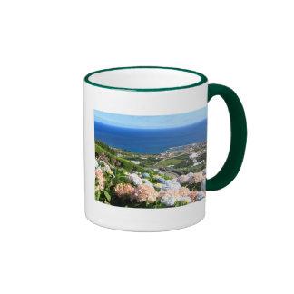 Azores landscape mug