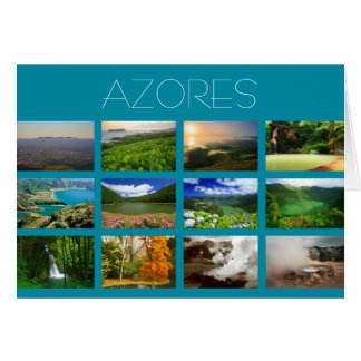 Azores Landscapes Greeting Card