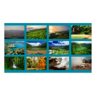 Azores Landscapes Pack Of Standard Business Cards