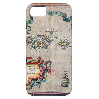 Azores Old Map - Vintage Sailing Exploration iPhone 5/5S Cover