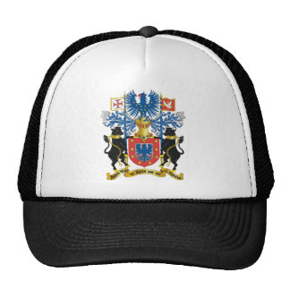 Azores (Portugal) Coat of Arms Mesh Hats