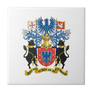 Azores (Portugal) Coat of Arms Small Square Tile