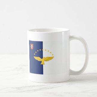 Azores (Portugal) Flag Coffee Mugs