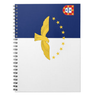 Azores (Portugal) Flag Notebook