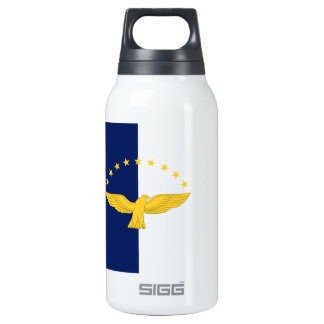 Azores (Portugal) Flag 10 Oz Insulated SIGG Thermos Water Bottle