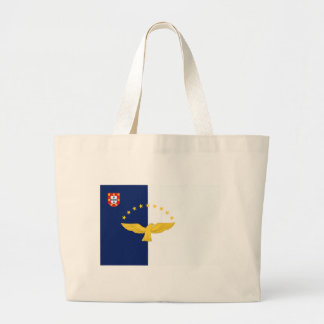 Azores (Portugal) Flag Canvas Bags