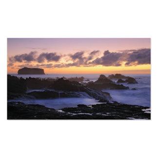 Azores seascape - Pocket Calendar Pack Of Standard Business Cards