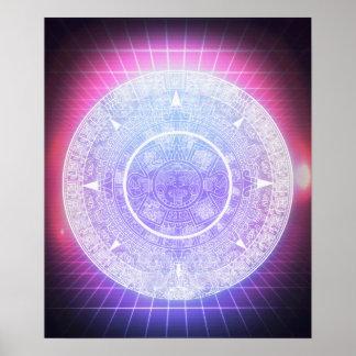 Aztec Aesthetics Poster