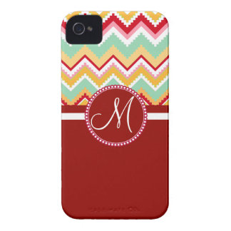 Aztec Andes Tribal Mountains Chevron Fiesta ZigZag Case-Mate iPhone 4 Cases