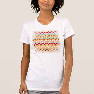 Aztec Andes Tribal Mountains Chevron Fiesta ZigZag T Shirts