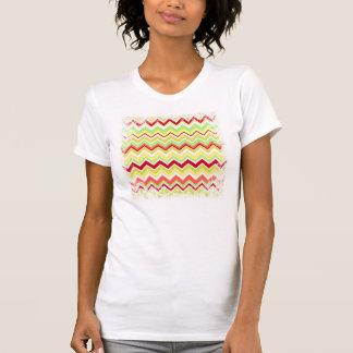 Aztec Andes Tribal Mountains Chevron Zig Zags Tshirt
