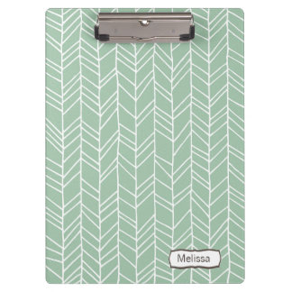 Aztec Arrow Pattern Modern Personalized Clip board