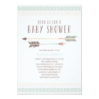 Aztec   Baby Shower Invitation
