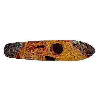 aztec bio 20.6 cm skateboard deck