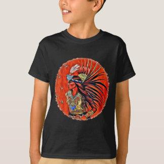 Aztec Bird Dancer Kids Dark T-shirt