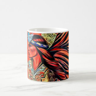 Aztec Bird Dancer Native American Mug