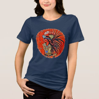 Aztec Bird Dancer Native American TShirt
