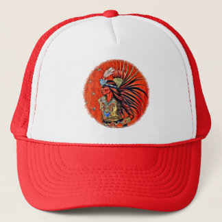 Aztec Bird Dancer Trucker Hat