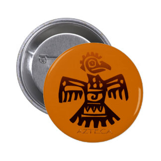 AZTEC ~ Bird Spirit Pinback Buttons