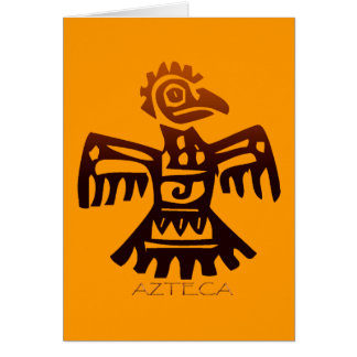 AZTEC ~ Bird Spirit Greeting Card