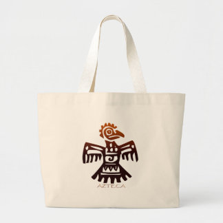 AZTEC ~ Bird Spirit Large Tote Bag