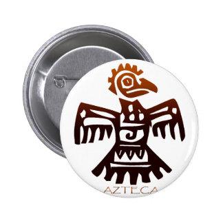AZTEC Bird Spirit Pinback Buttons