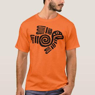 Aztec Bird T-Shirt Black