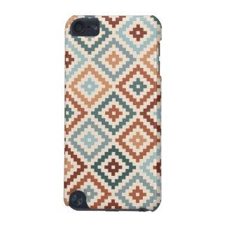 Aztec Block Symbol Ptn Teals Crm Terracottas iPod Touch (5th Generation) Case