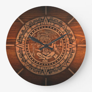 Aztec Calendar Wallclocks