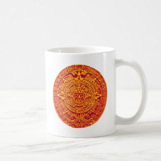 Aztec Calendar - gold Mug